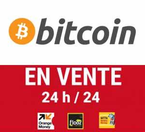 Vente de bitcoins