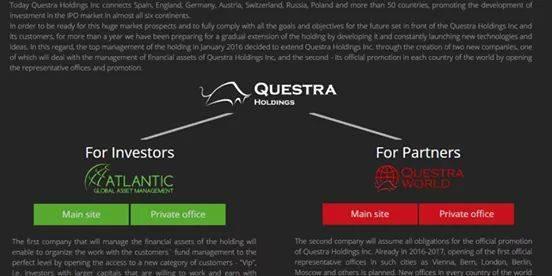 Questra world vs Atlantic