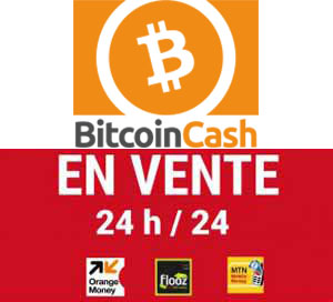 Vente de bitcoins CASH